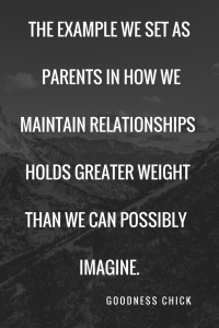 four ingredients for a health relationship