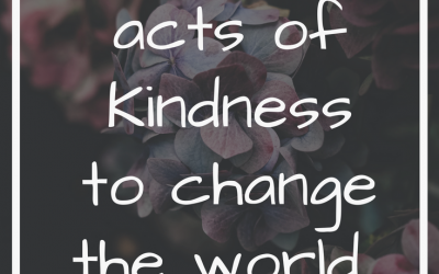 Acts of kindness that make people feel that they matter