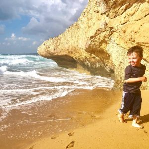 What travel teaches you with a three year old