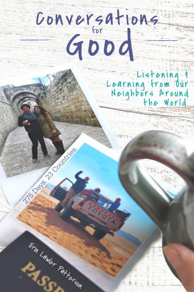 Conversations for Good by Erin Lawler Patteron, The Goodness Chick